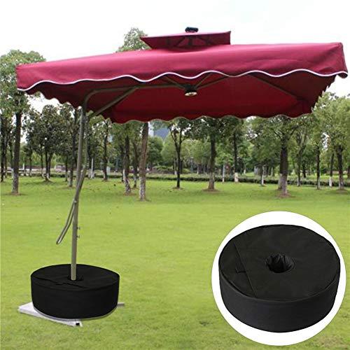 Bluelans Sac de musculation avec base amovible pour parasol ou mât de pavillon de patio extérieur 15\