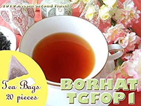 【本格】紅茶 ティーバッグ 20個 アッサム バーハット茶園 セカンドフラッシュ TGFOP1 O93/2019