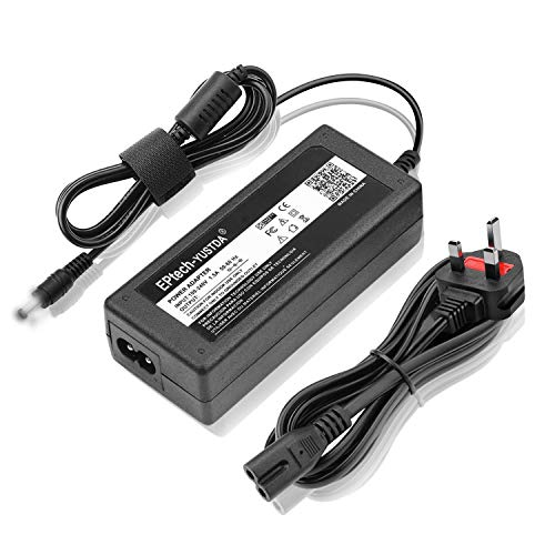 EPtech - Adaptador de CA y CC para Sony KDL-48W600B KDL-40W600B KDL48W600B...