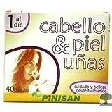 Cabello Piel y Uñas 40 cápsulas de Pinisan