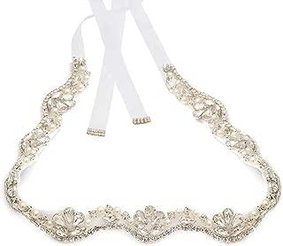 Handmade Rhinestone belt Wedding Bridal Belt Sashes For Bridesmaid Dress