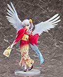 AMrjzr 1 Estilo-Anime Frontline Angel's Heartbeat Lihua Jugando Angel Kimono 1/8 Figura Caja-Altura:...