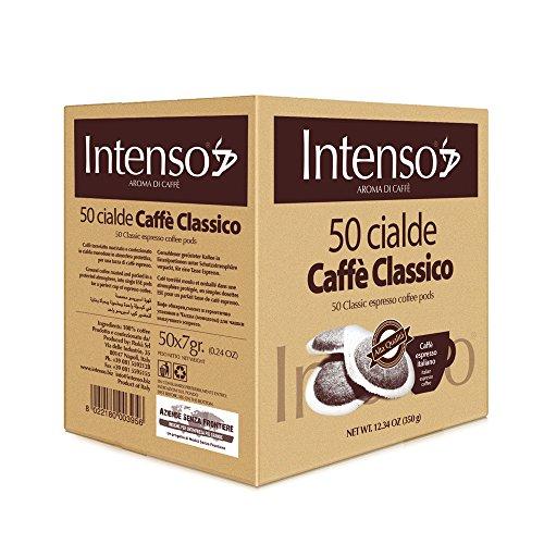 Intenso Classico Espresso ESE Pads / Cialde / Servings, 50 Pads