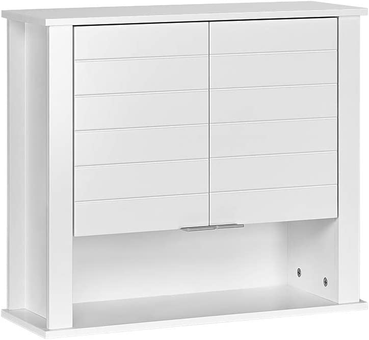 RiverRidge White Madison Luxury Store Collection Wall 2-Door Cabinet