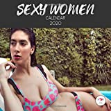 Sexy Women Calendar 2020: 2020 Calendar Sexy Ladies Mini Desk Wall 8.5 x 8.5 12 Month Calendar Colorful Woman Images