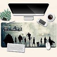 マウスパッドワンピースアニメ表面摩耗保護オフィスホームマウスパッド-A_800X300X3mm