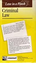 Criminal Law (Law in a Flash Ser) by Kimm Walton (1994-09-02)