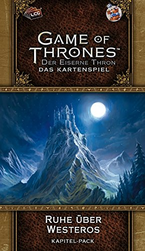 Fantasy Flight Games FFGD2355 GoT: LCG 2.Ed. -Ruhe über Westeros