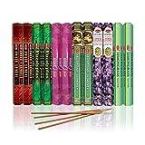 HEM Incense Sticks Best Sellers 6 Boxes X 20 Grams, Variety Pack, Total 120 Gm Pack Of 2