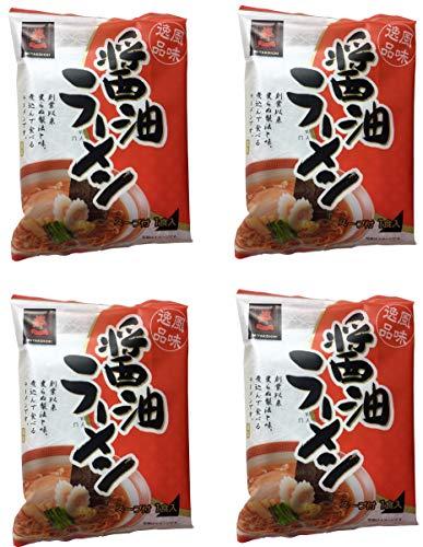 【都一】 醤油ラーメン 4袋セット 【まとめ買い】