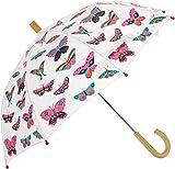 Hatley Girls' Little Printed Umbrellas, Groovy Butterflies, One Size