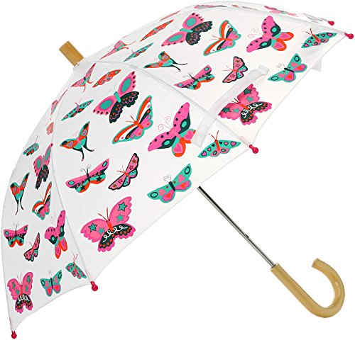Hatley Mädchen Printed Umbrella Regenschirm, (Spring Daisy), (Herstellergröße: One Size)