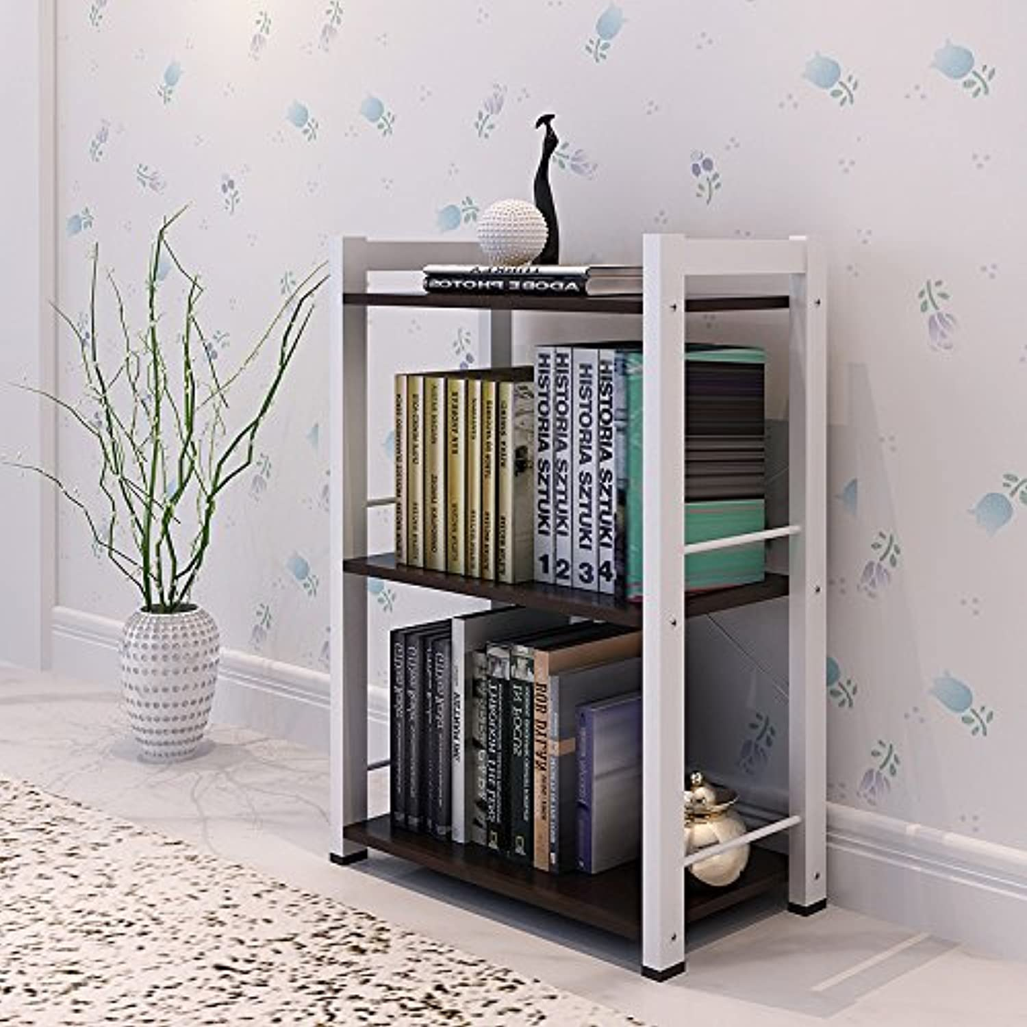 Creative combination of modern minimalist bookshelves bookcase Easy Storage Cabinets , 3 layer