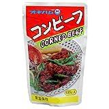 コンビーフ 135g×10袋 オキハム 牛肉をじっくり煮込んでやわらかく仕上げたコンビーフ 濃厚な味はチャンプルー料理にぴったり コロッケやオムレツにも