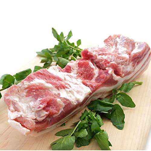 国産 豚肉 房総もち豚 豚バラ ブロック 500g 4パック