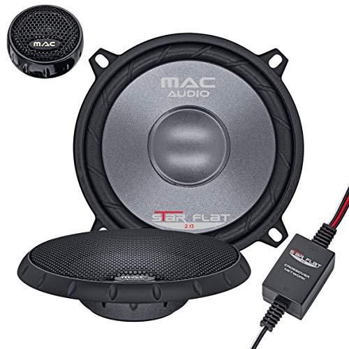 Mac Audio Star Flat 13.2 - ultraflacher 2-Wege Koaxial Einbaulautsprecher, Car HiFi LS:Koaxial-130mm