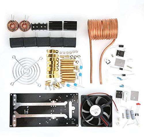 FORETTY DIANLU43 Módulo de Calentamiento de inducción Módulo de Bobina de Calentamiento de inducción 1000W 12-36V 20A con Ventilador de enfriamiento Rendimiento Estable