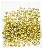 ArtVerse Jingle Bells 1/4-Inch, 144/Pkg, Gold