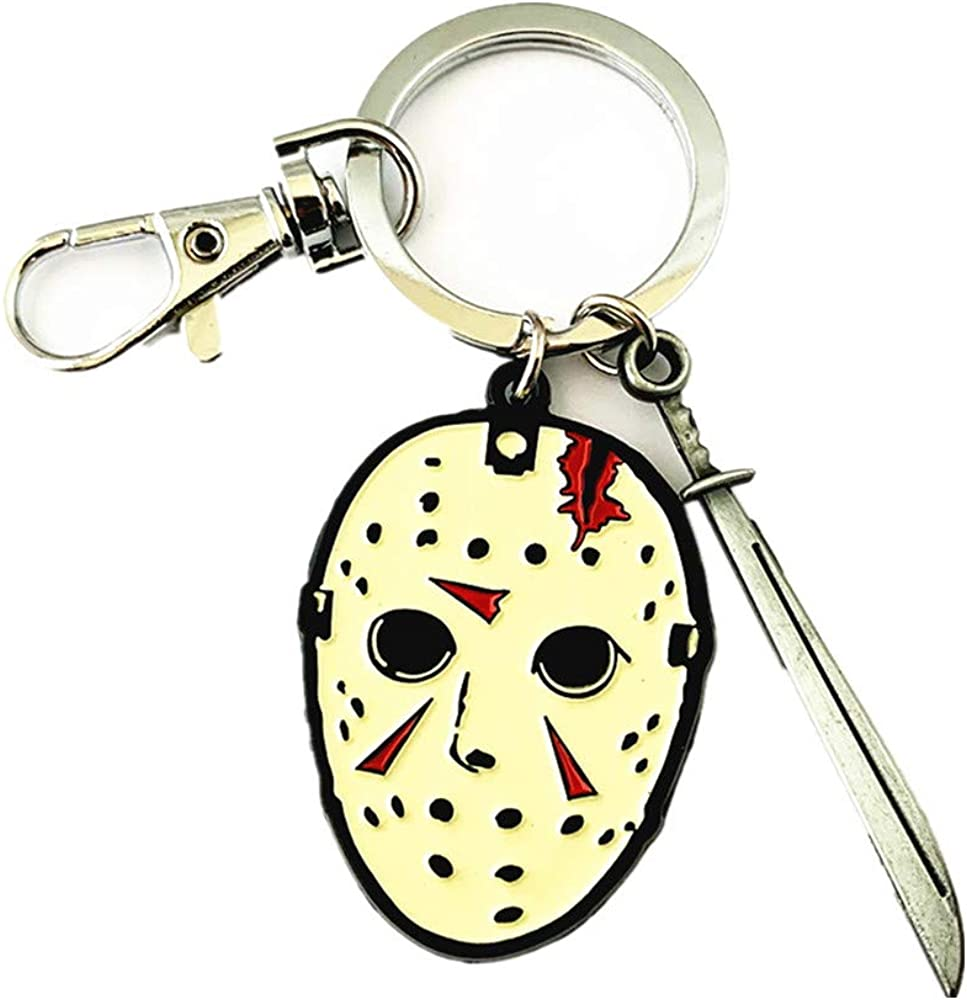 Community of Fandoms Jason Voorhees Horror Keychains Gifts for Men Woman