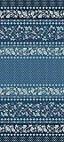 Bassetti FABRIANO Foulard, algodón, Azul, 180x270