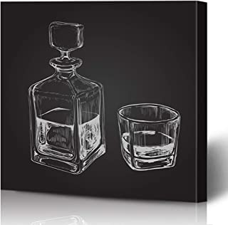 Best whiskey bottle sketch Reviews
