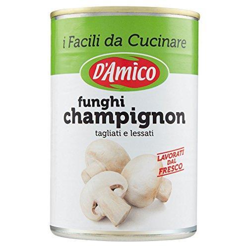 D'Amico - I Facili da Cucinare, Funghi Champignons, tagliati...