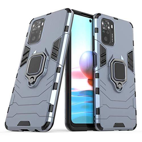 BeyondTop Funda Tough Armor para Xiaomi Redmi Note 10 4G Tapa Trasera...