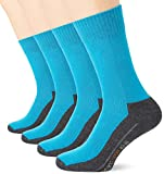 Camano 9200, Calcetines para Hombre, Turquesa (Turquoise 0032), 43-46 (Pack de 4)