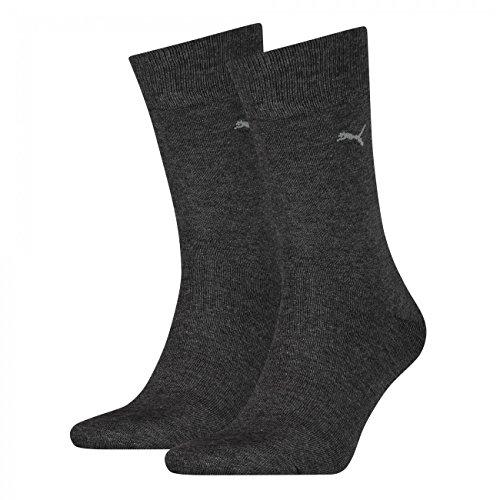 PUMA Herren Casual Socken Classic 4er Pack, Größe:43-46;Farbe:anthracite