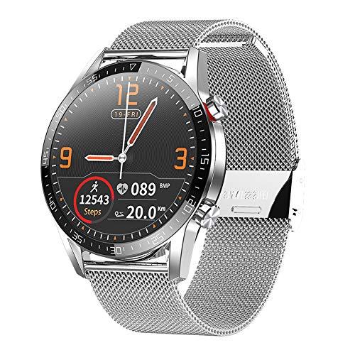 Padgene Smartwatch Deportivo con Llamadas Bluetooth, Reloj Inteligente Impermeable IP68, Pulsera Actividad con Monitor de Sueño, Ritmo Cardíaco, Notificación de Mensaje para Android e iOS