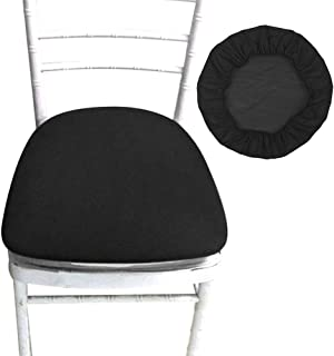 Removable Stretch Chair Slipcover Dining Spandex Chair Seat Covers Soft Chair Protectors for Dining Room Patio Office Chair