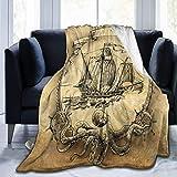 Jhonangel Velero Manta Ultra Suave Manta de Cama Ligera Manta de sofá para Hombres Mujeres Niños 204 x 153 cm / 80 x 60 Pulgadas
