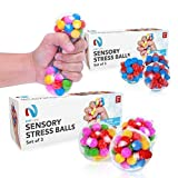 Stress-Relief Sensory Stress Balls by Nyft Toys | Squishy Stress Toys | Squeezing