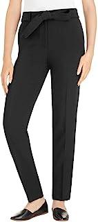 Hilary Radley Ladies' Tie Front Dress Pant