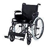"Manueller Rollstuhl ""Dynamic"" Sitzbreite 46 cm Falt-Rollstuhl faltbar von Romed (Rot) -"