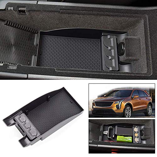 Maite Car Armrest Storage Box for Mitsubishi Eclipse Cross Central Console Tray Armrest Organizer