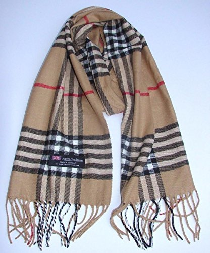 Camel_(US Seller)Unisex 72×12 Scarf Scotland Warm – B92