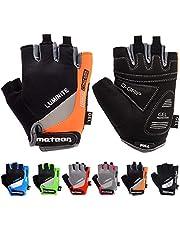 meteor Fietshandschoenen Halve Vinger Handschoenen - Halve Vingers voor Dames en Heren en Jeugd - Sporthandschoenen Gel MTB Mountainbike Race