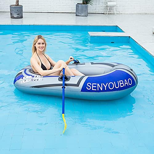 YANXS Adultos y Niños Hinchables para Piscina Flotador Gigante para Piscina al Aire Libre o Lounge Piscina Flotador, Inflatable Boat Piscina Inflable Flotador para,Azul,A