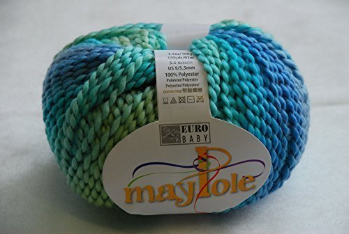 Wool 100g Euro Baby MAYPOLE CHUNKY Knitting Yarn 35 Ferris Wheel