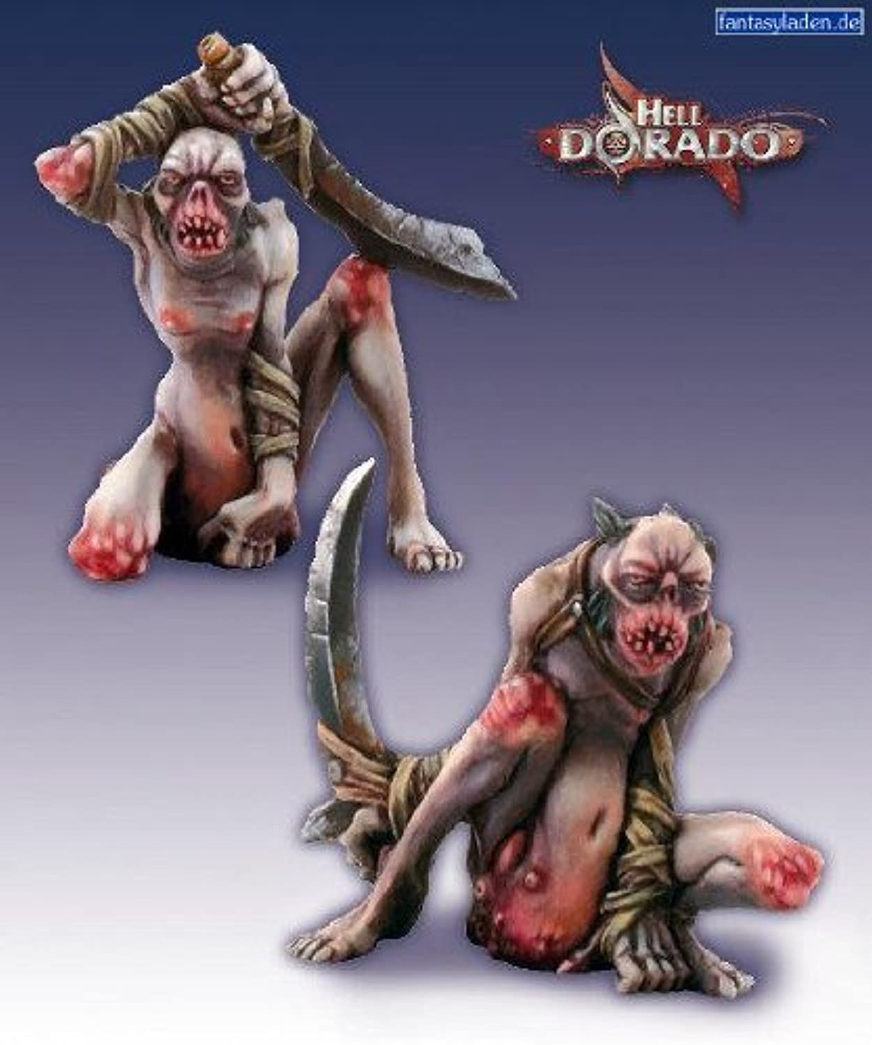 Hell Dorado  Damned Ones of Sloth (2) by Cipher Studios