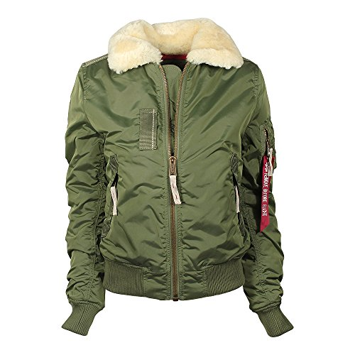 Alpha Industries Injector III Damen Jacke Oliv S