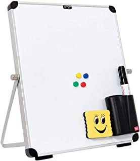 Whiteboard Magnetic Personal Desktop Dry Erase Board Easel Board is Easy to Write and Clean Whiteboard Table is Very Suita...