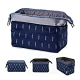 House of Quirk Polyester Toiletry Bag (Blue_HANDYPOUCH_BLU)