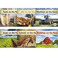 Abdo Kids CPB9781496611482 On The Farm English Book Set (Pack of 6) [並行輸入品]