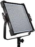 Pixel dimmabares Bi-Farbe 600 LED Video Licht mit wiederaufladbarer 6600mAh Akku ,Ladegerät ,Fernbedienung Beleuchtung Kit: 3000-8000K,CRI 97+,19000LM (0,5 m), LCD-Bildschirm, mit U Halterung -