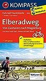 Fahrrad-Tourenkarte Elberadweg, Von Cuxhaven nach Magdeburg: Fahrrad-Tourenkarte. GPS-genau. 1:50000. (KOMPASS-Fahrrad-Tourenkarten, Band 7002)