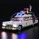 BRIKSMAX Kit de iluminación LED paraIdeasCazafantasmas™ ECTO-1 - Compatible...