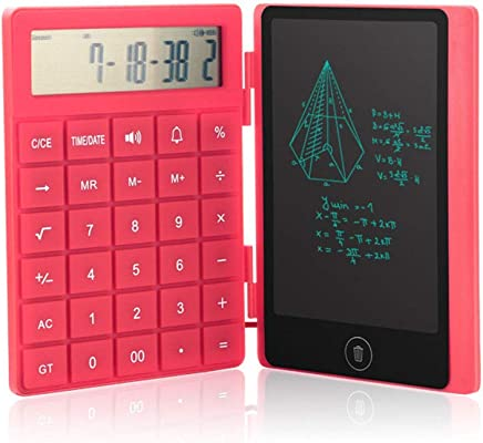 Calcolatrice Tablet per tablet LCD ultrasottile da 8 pollici Stilo Processo di calcolo della riproduzione in inglese Tablet elettronico piatto (2 pcs Calcolatrice) - Trova i prezzi più bassi