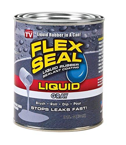 Flex Seal Liquid Rubber in a Can, Gray (16-oz)